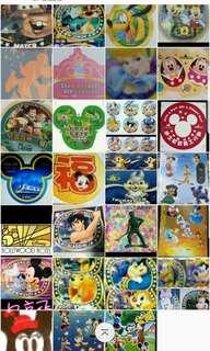 徵~以上圖的迪士尼樂園派的貼紙
