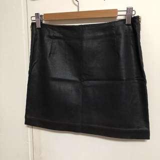 H&M 黑色迷你短裙