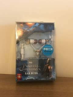 Disney Pirates of the Caribbean Ear Buds 耳筒