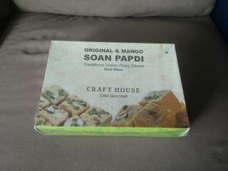 Indian Flaky Sweet - Soan Papdi #nogstday