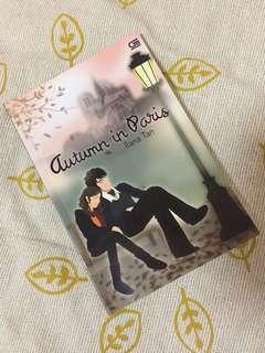 Novel Autumn in Paris