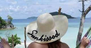 Kultura Sunkissed Beach Hat