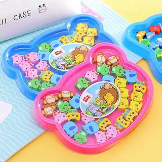 (15 pcs) Mini cute erasers