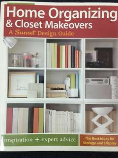 Book - Home Organising and closet makeovers