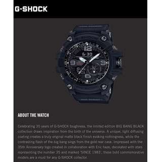 G-SHOCK 35 ANNIVERSARY LIMITED EDITION GG-1035A-1AER