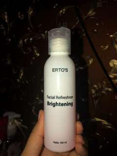 ERTOS Facial Refreshner Brightening