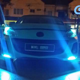 Nice COB Daytime Running Light (DRL) 17CM&14CM ( CAR&MOTORBIKE) LED UNIVERSAL Different colour, led lover