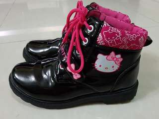 Hello Kitty High-cut Boots