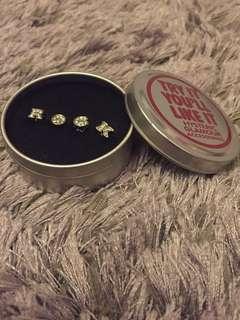 R。O。C。K。Earrings
