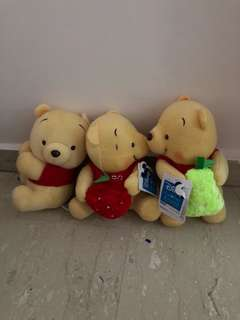 BN 20cm 3pcs Pooh Collectible