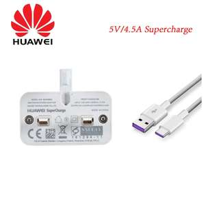 Huawei Supercharger High Speed 3 pin & Type C cable P20 Pro