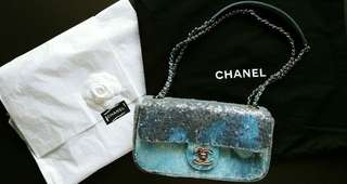 Chanel Handbag 湖水藍 斷貨款 有出世紙