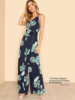 OVERLAP JUMPSUIT Fits S To L  Price : 390