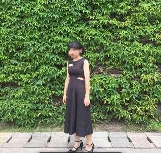 黑色洋裝 小性感
