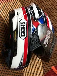 Helmet shoei x12 reverb