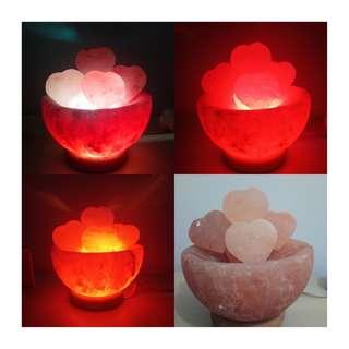 Authentic Himalayan Salt Lamp Firebowl