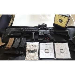 KWA M4A1 ERG 全金屬電動槍