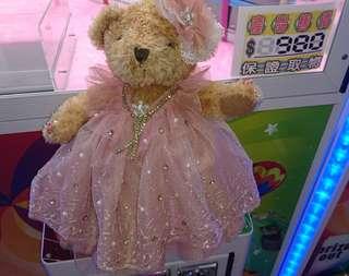 🚚 泰迪熊新娘娃娃 中型