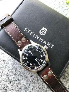 Steinhart Nav-Uhr 44 pilot watch (no logo)