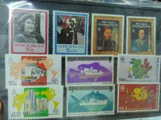 懷舊香港郵票