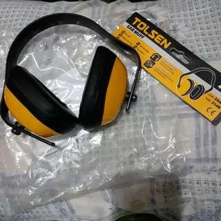 Tolsen Ear Muffler / Ear Muff (noise cancelling ear protection)