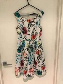 Portman floral dress