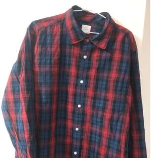 B GAP 長袖襯衫  XL (B)