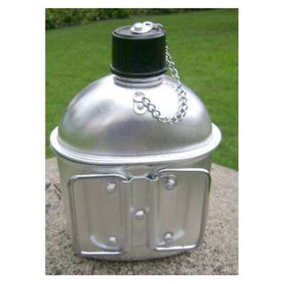 Armored Outdoor aluminum Kettle Marching with lunch box