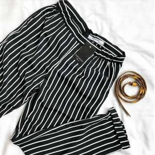 Pants basic zara black