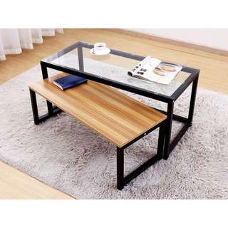 2-in-1 Coffee Table Set