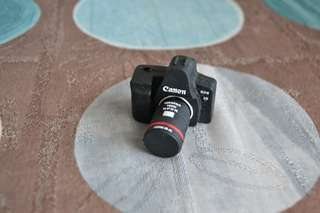 Miniature camera Canon with pendrive