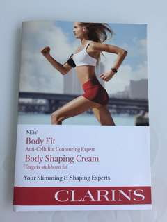 Clarins Body Shaping Cream and Body Fit