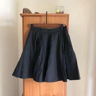 🚚 黑色重磅裙子
