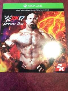 WWE2K17 DLC (XBOX ONE)