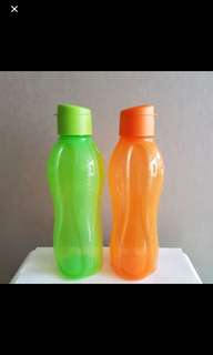 Tupperware eco bottle 1L flip TOP