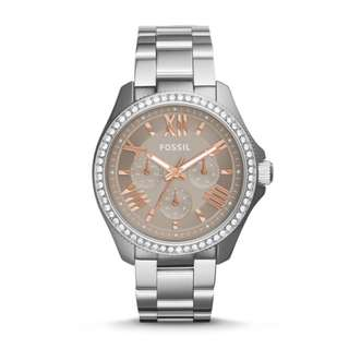[Clearance] Fossil AM4628 Cecile Multifunction Stainless Steel Watch