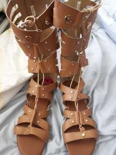 Michael kors gladiator shoes 100% authentic and original