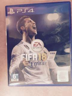 FIFA18 r3 ps4 game