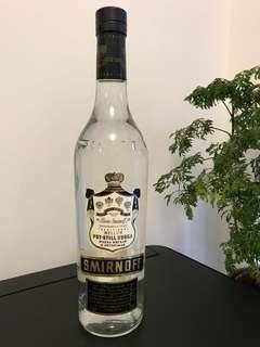 SMIRNOFF BLACK LABEL  Pot-Still Vodka (old version)