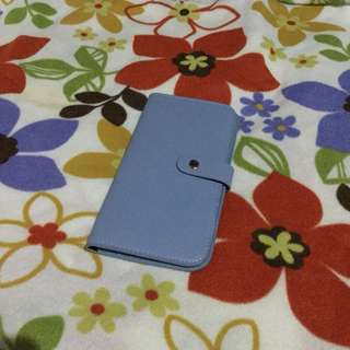 Powder blue wallet