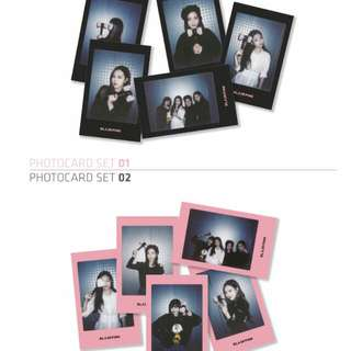 [WTB] BLACKPINK LIGHTSTICK PHOTOCARD