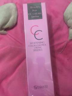 CC Cream Whitening Color Controll - Soft Pink