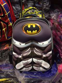 BATMAN KIDS SCHOOL BAG TROLLEY