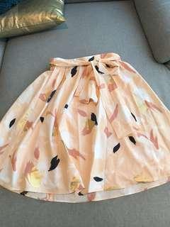 Tokito Gold multicolor skirt