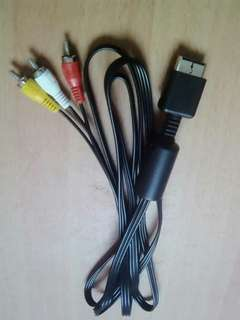 Sony Playstation AV Video/Audio Cable