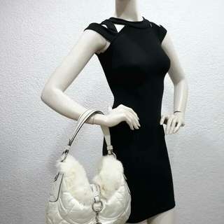 Coach Fur bag Louis Vuitton Gucci Chanel