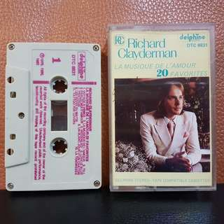 Cassette》Richard Clayderman - 20 Favourites