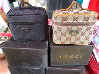 Gucci 化妝袋(二色)一個115