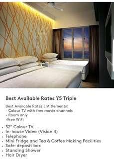 23/6 Sat. Y5 Triple Room Genting Raya