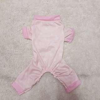 Pink Dog Pajama Onesie